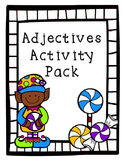 Christmas Adjectives Activity Pack - Task Cards and More