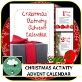 Christmas Advent Calendar A Festive Activity Countdown!