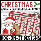 Christmas Kindness Advent Calendar Santa Letter Bundle Digital and Print