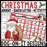 Christmas Kindness Advent Calendar and Santa Letter Bundle Digital and Print