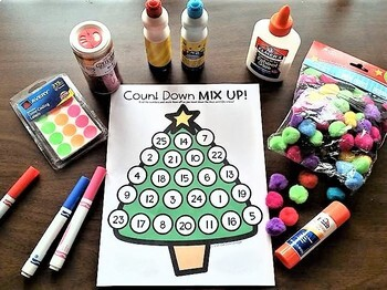 Christmas Advent Countdown FREEBIE!!