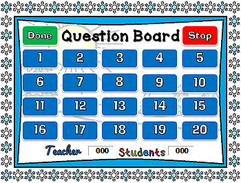 Winter Counting Powerpoint Game