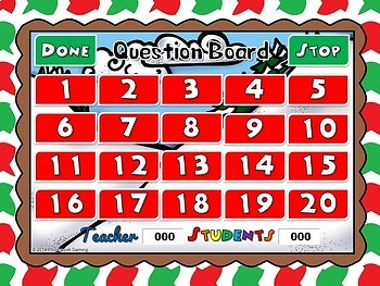 Comparing Numbers Elf Powerpoint Game