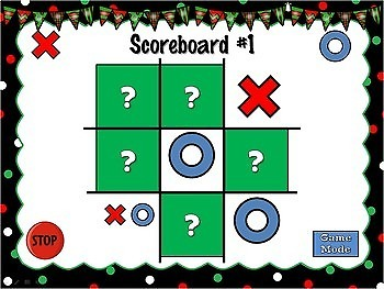 Comparing Decimals Christmas Powerpoint Game