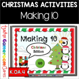 Making 10 Christmas Editon Powerpoint Game