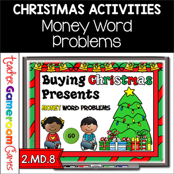 Christmas Presents For Teachers.Buying Christmas Presents Money Powerpoint Game