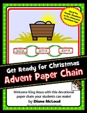 Christmas (Advent) Devotional Paper Chain Craft