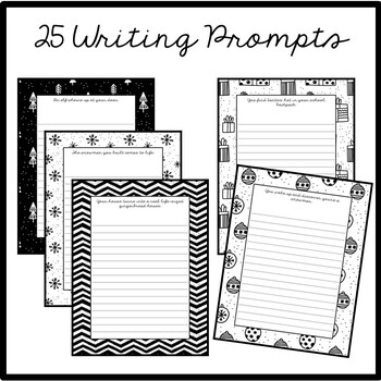Christmas Advent Writing Prompts