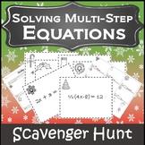 Christmas Algebra Activities {Algebra Christmas Activity} {Christmas Algebra 1}