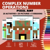 Christmas: Algebra Complex Numbers Pixel Art Mystery Pictures