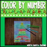 Christmas Algebra - Editable Equations Solving For X - Col
