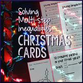 Christmas Algebra – Solving Inequalities
