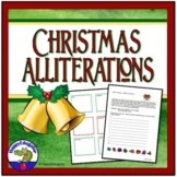 Christmas Alliterations Writing Activity