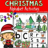Christmas Alphabet Activities