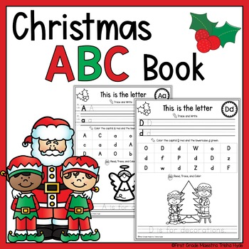 Christmas Alphabet Book