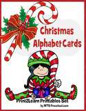 Christmas Alphabet Cards