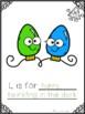 Christmas Alphabet Class Book