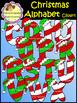 Christmas Alphabet Clip Art / Uppercase Letters (School Designhcf)