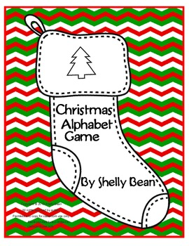 Christmas Alphabet Game (differentiated instruction ideas included)
