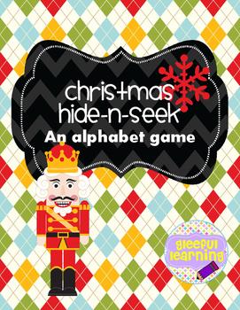 Christmas Alphabet Hide-n-Seek