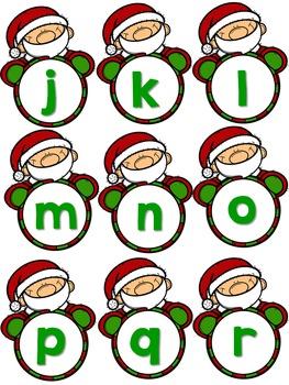 Christmas Alphabet Letter Identification/Sound Activities