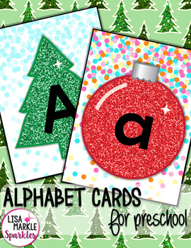 Christmas Alphabet Letter Matching Activity for Preschool Literacy