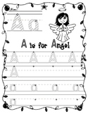 Christmas Alphabet Letter Trace and Write