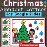 Christmas Alphabet Letters Uppercase Lowercase Digital Goo