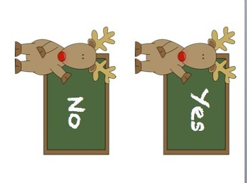 Christmas Alphabet Match-up (Matching Upper and Lower Case Letters)