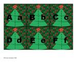 Christmas Alphabet Matching Cards