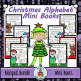 Christmas Alphabet Mini Books Bilingual Bundle