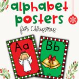 Christmas Alphabet Posters