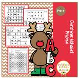 Christmas Alphabet Practice