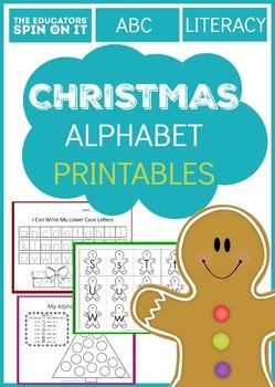 Christmas Alphabet Printables