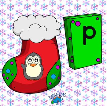 Christmas Alphabet Puzzles
