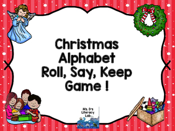 Alphabet Roll, Say, Keep (Christmas)