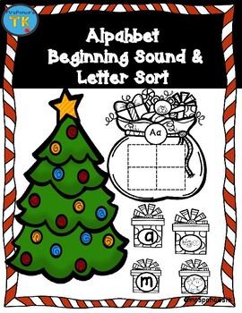 Christmas Alphabet Sort