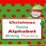 Christmas Alphabet Writing Practice