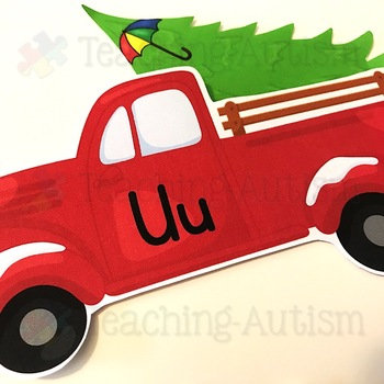 Christmas Alphabet and Letter Recognition