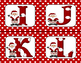 Christmas Alphabet with Santa Claus-Set of Flash Cards (in Color)