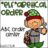 Christmas Alphabetical Order Center
