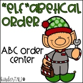 Christmas Alphabetical Order Center