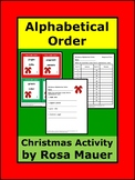 Christmas Alphabetical Order Review