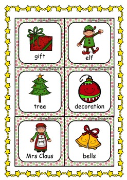 Christmas Alphabetical Ordering