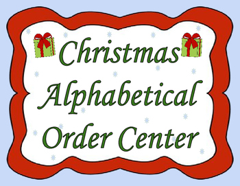 Christmas Language Arts Center
