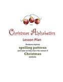 Christmas Alphabetics Lesson Plan