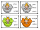 Christmas Angel Color Sight Word Clip Cards