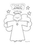 Christmas Angel - photo gift