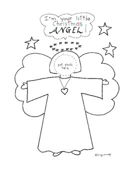 Christmas Angel - photo gift