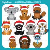 Christmas Animals Clip Art Australian New Zealand Xmas